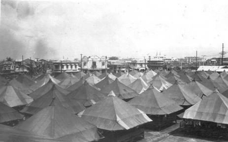 US Army camp Manila 1944
