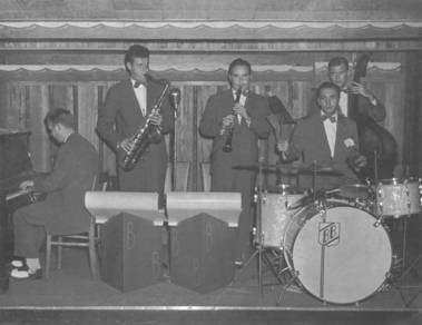 Bobby Blake Band at Wertz, 1948