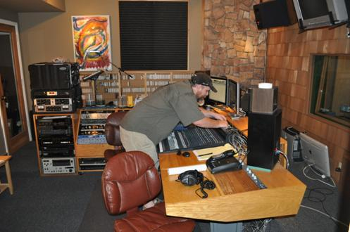 Rob Norriss at Saturn Sound Studios