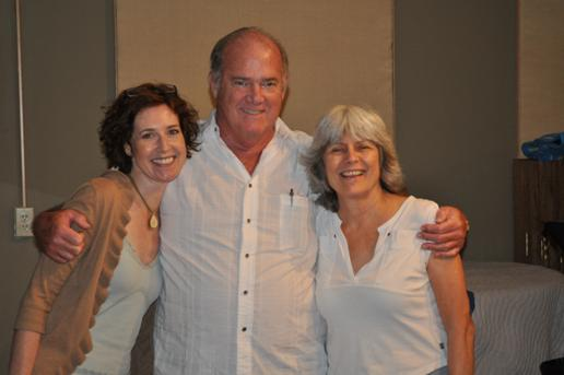 Jill Lauri, Ivan Skinner and Pat Champion